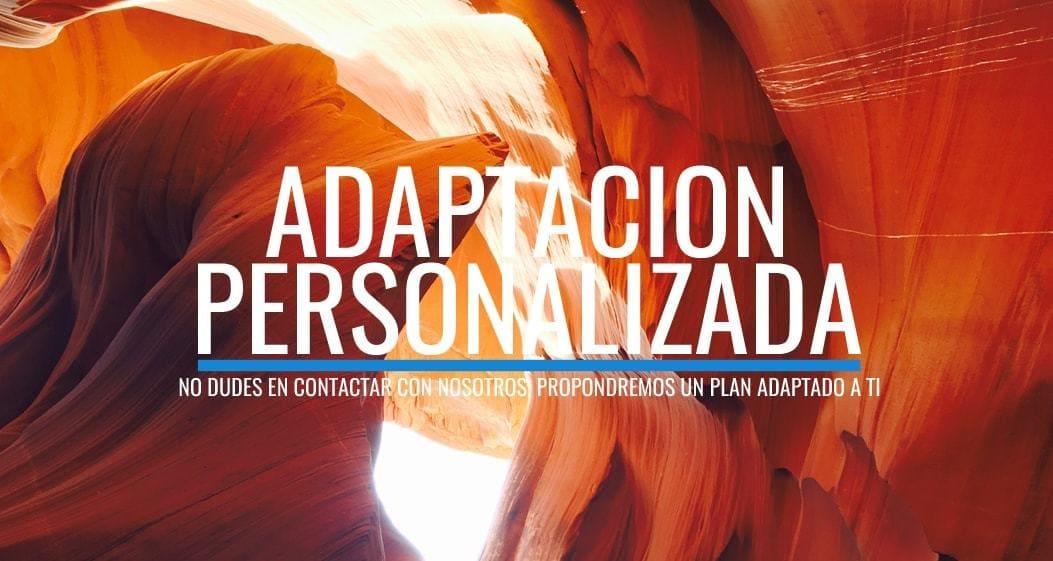 Adaptación personalizada