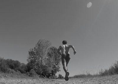 Fabio practicando running
