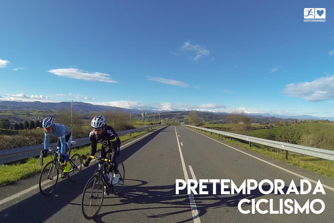 Claves para preparar la pretemporada de ciclismo